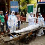 covid 19 india dead body
