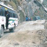 pokhara baglung road repair