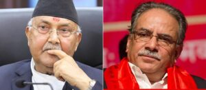 kp sharma oli and prachand