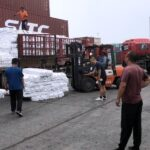 Chinese tents donate