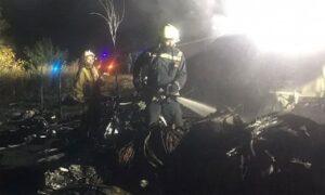 Ukraine air force plane crash
