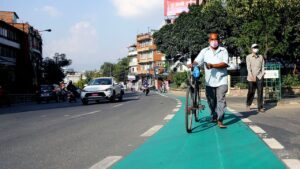 cycle lane lalitpur