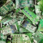 electronic waste material