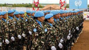 shanti sena nepal army