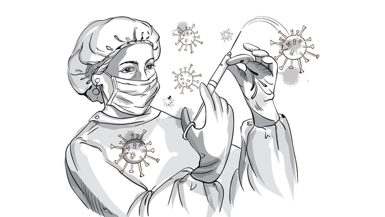 Corona and nurse