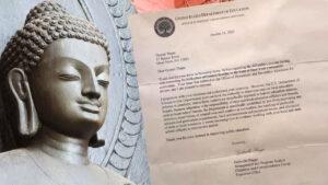 Correction buddha