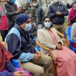 Padma Aryal in Syangja Hospital