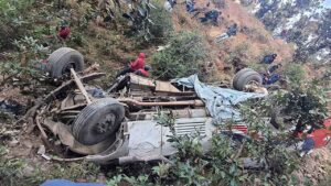 baitadi Bus accident