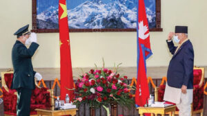 china minister and oli