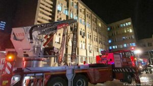 covid 19 hospital fire accident