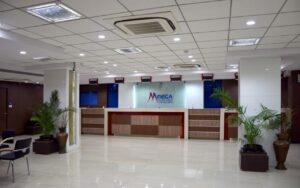 mega bank counter