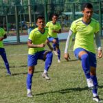 nepali football team practice in bangladesh