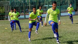 nepali football team practice in bangladesh