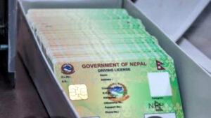 nepali license