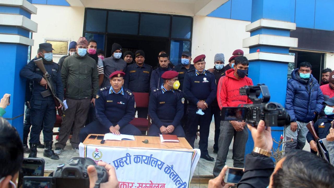 Kailali Police Murder