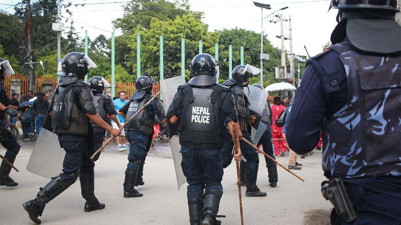 Nepal Police KTM Gasti