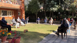 congress meeting budhanilkantha