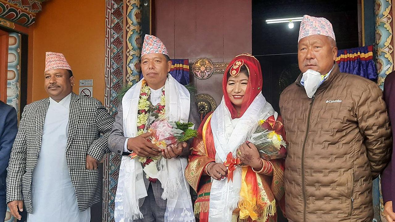 karna and sharmila gurung
