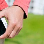 mobile in pocket