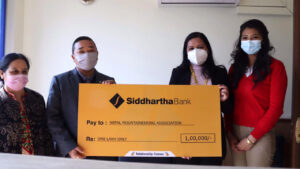 siddhartha bank donation