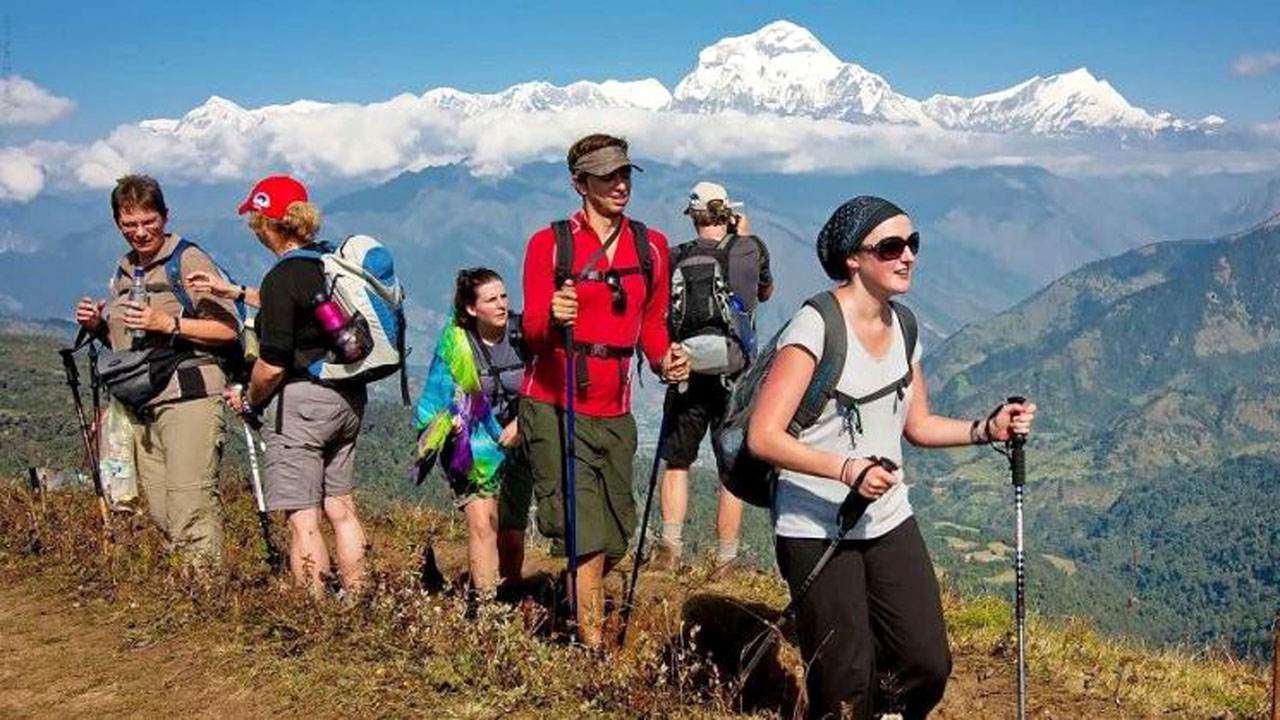 tourist in baglung
