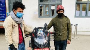 arrest with bike