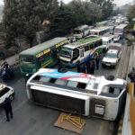 bus accident in bhadrakali