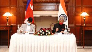 nepal india joint meeting pradeep gyawali s jayshankar
