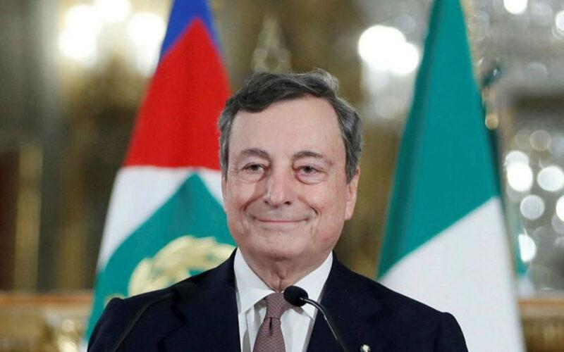 Mario Draghi Italy