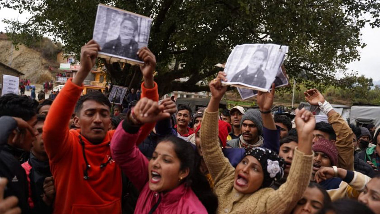 bhagrathi protest