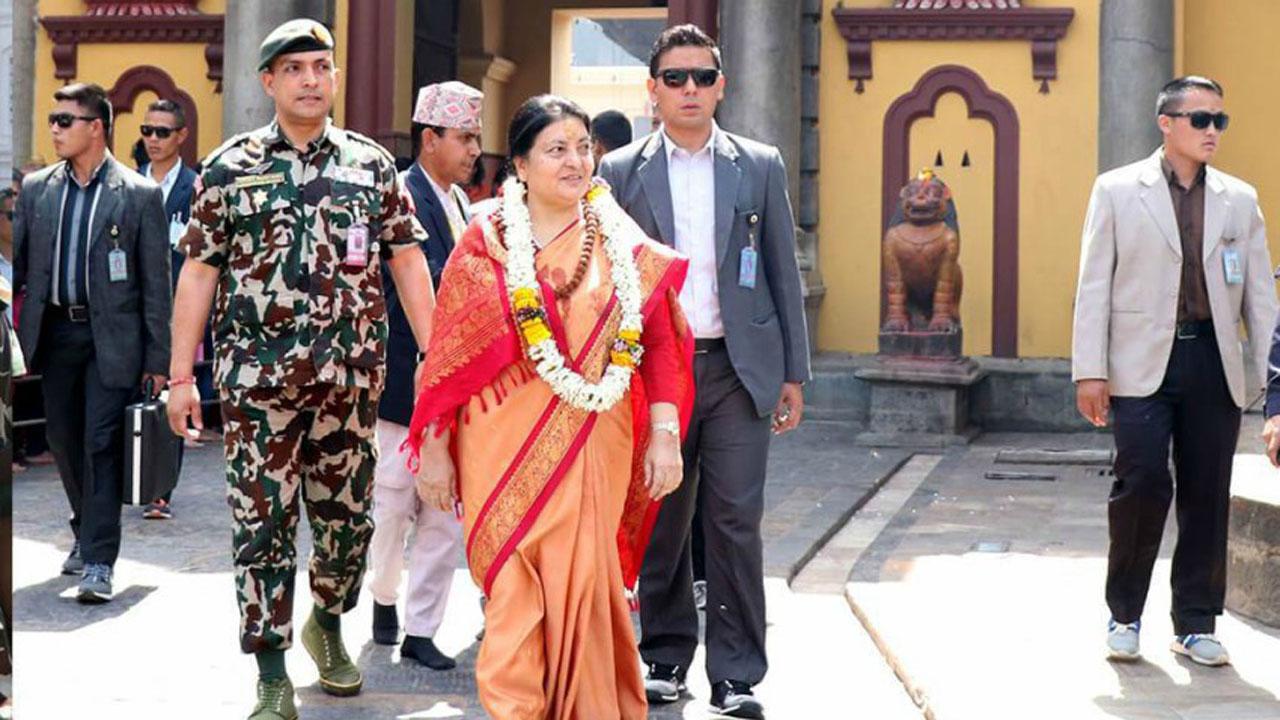 bidhya devi bhandari pashupati