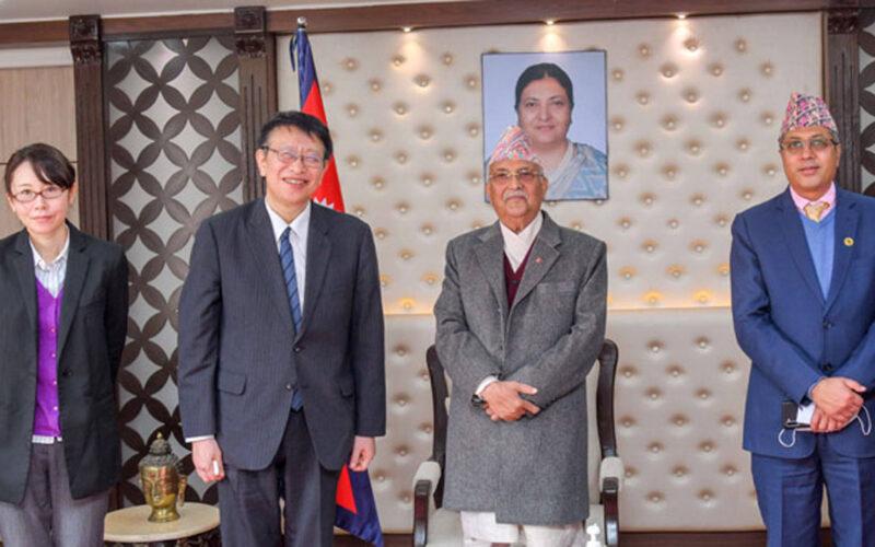 japanese Embassodor PM Meet