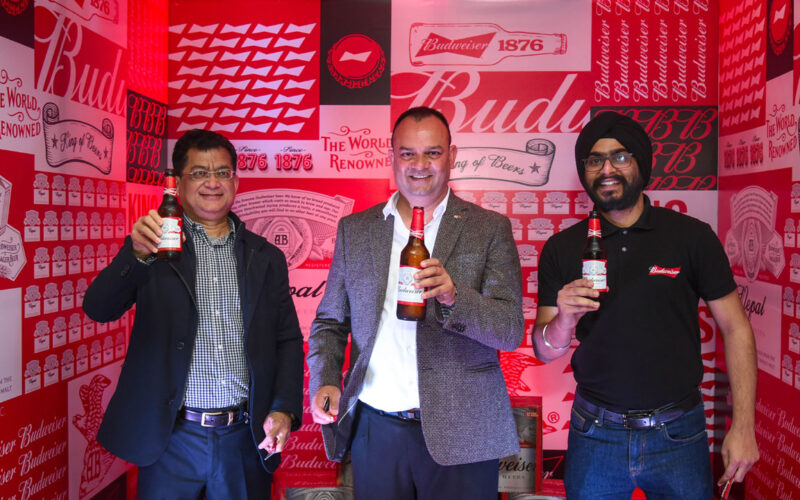 Budweiser Launch in Nepal