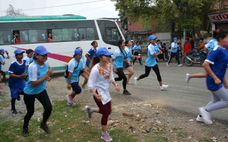 Damauli marathon