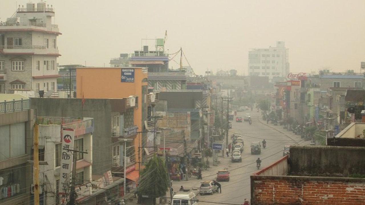 air pollution pokhara