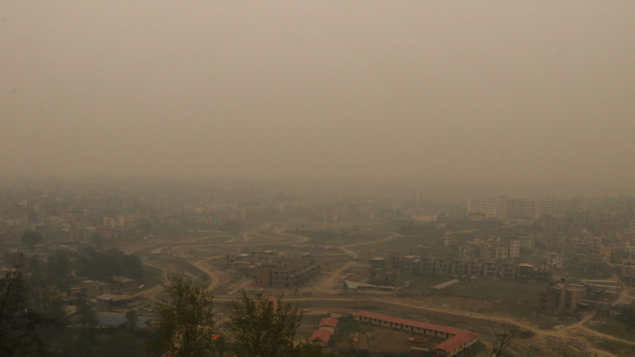ait pollution in kathmandu