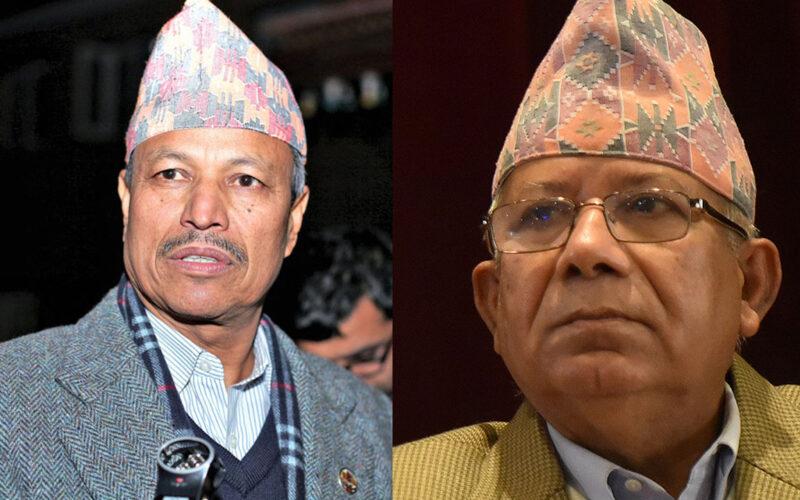 bhim rawal and madav nepal