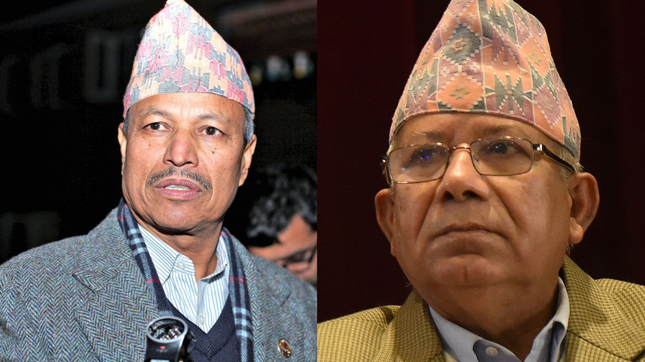 bhim rawal and madav nepal