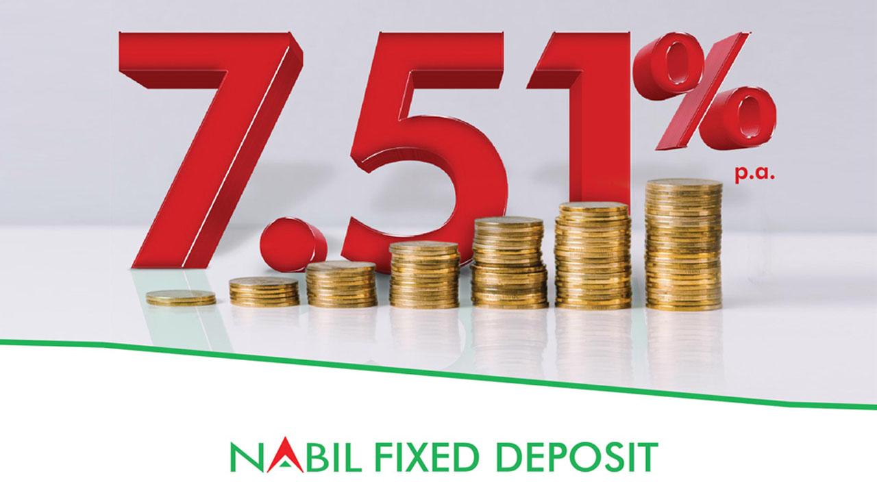 nabil fixed deposit