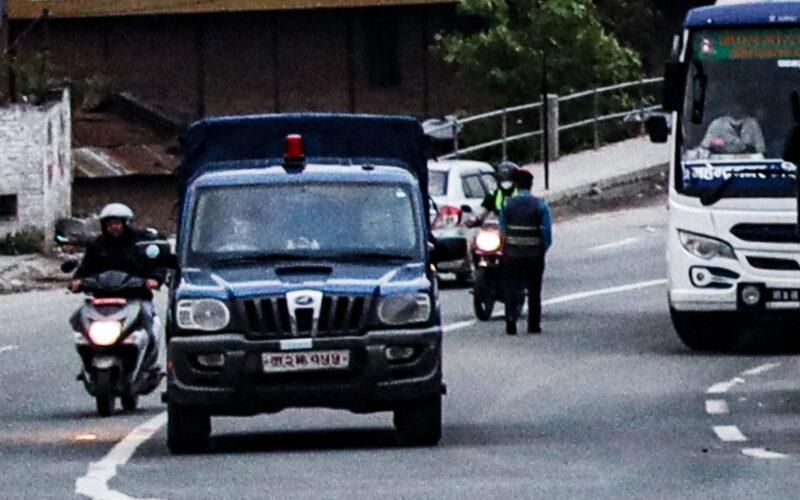 police van