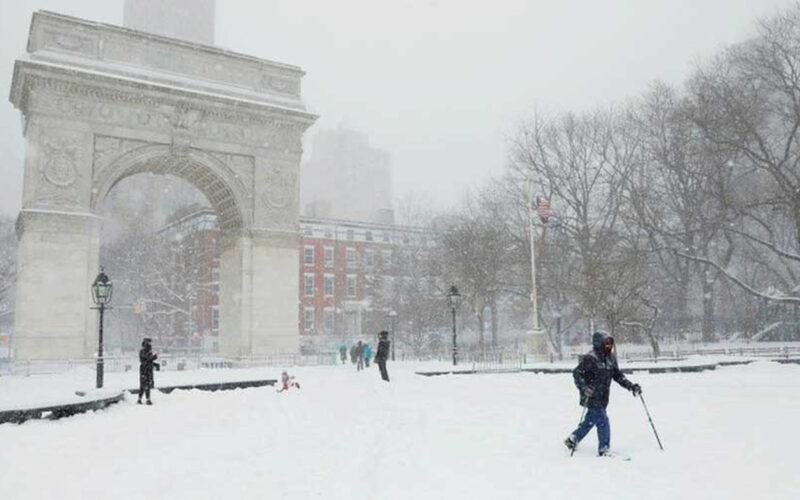 snowfall newyork
