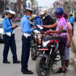 traffic check during holi