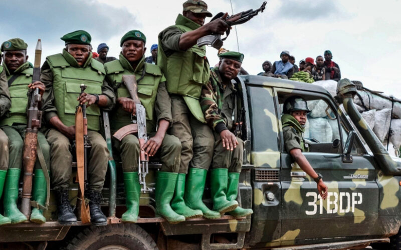 Congo forces
