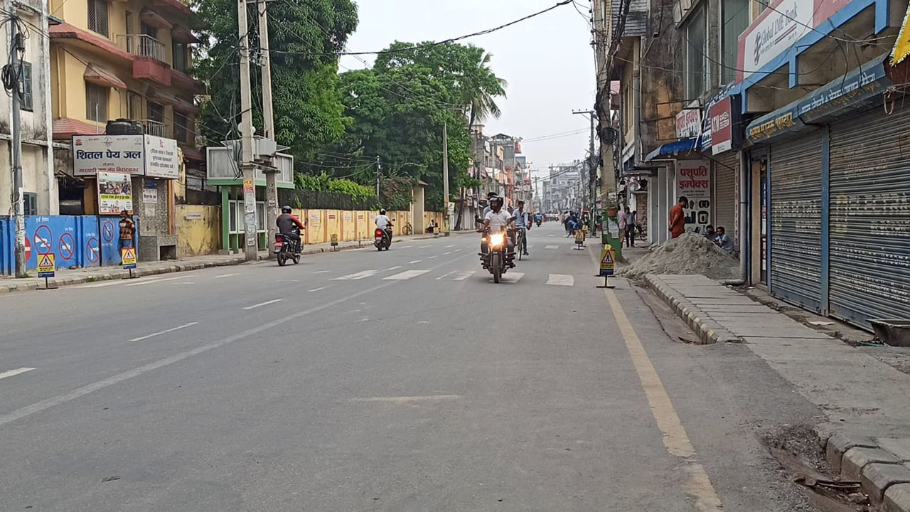 Morang lockdown