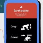 android earthquake alert