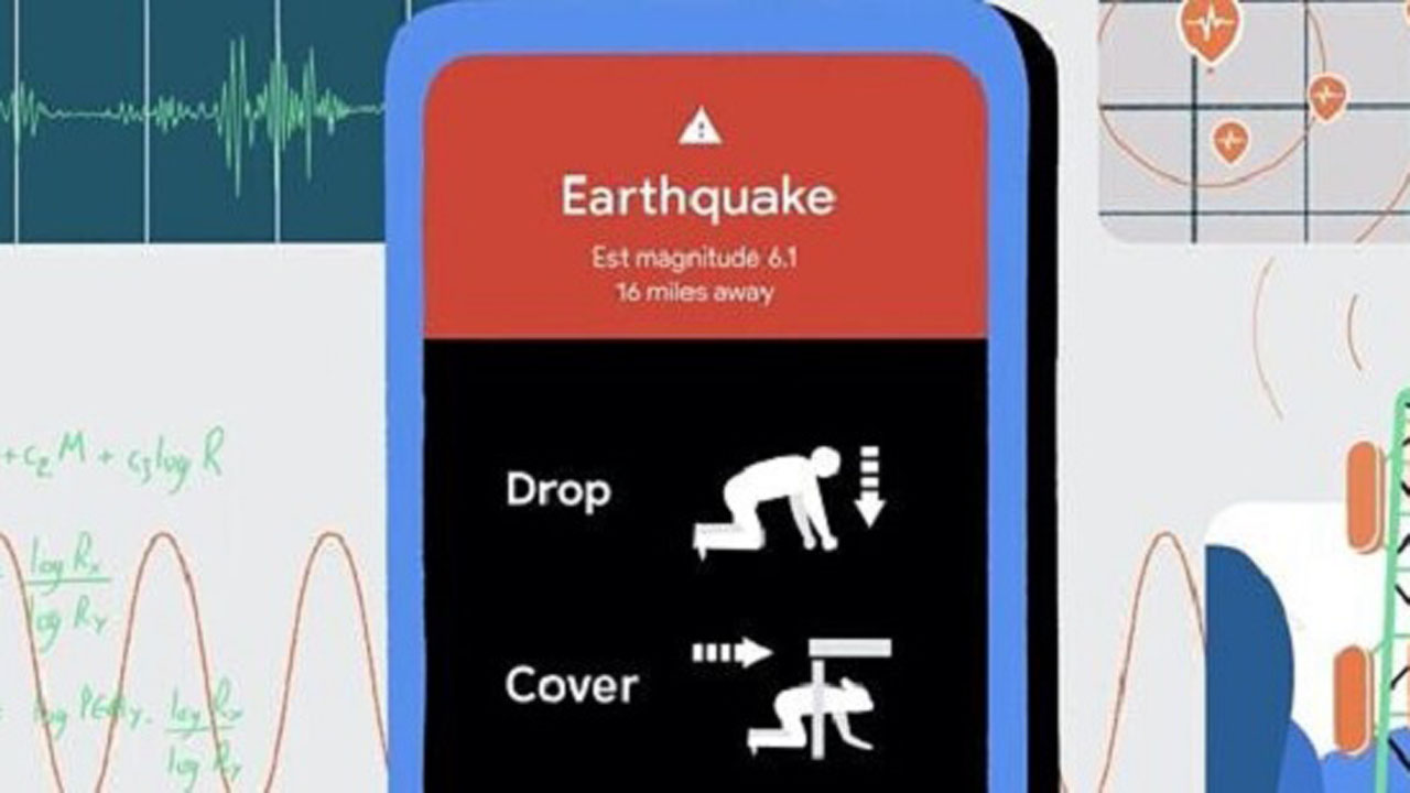 android earthquake alert
