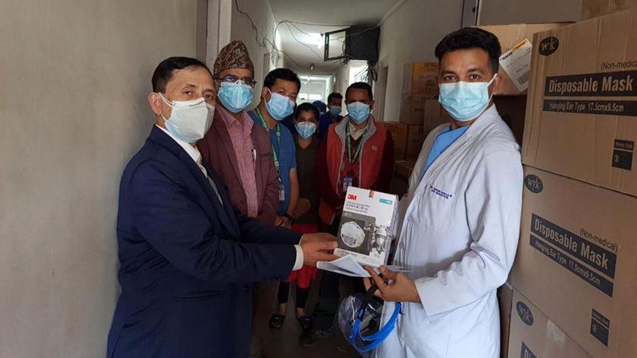 surya nepal donation