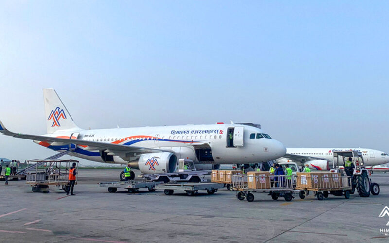 Himalaya Airlines Vaccines Cargo