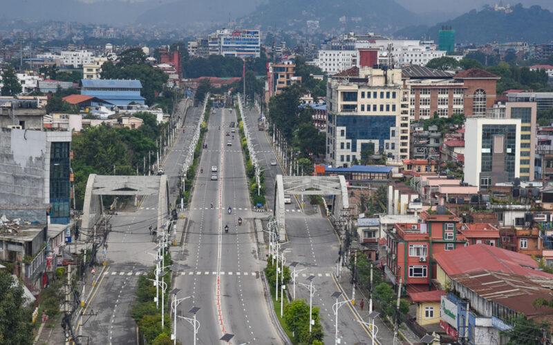 kathmandu valley lockdown