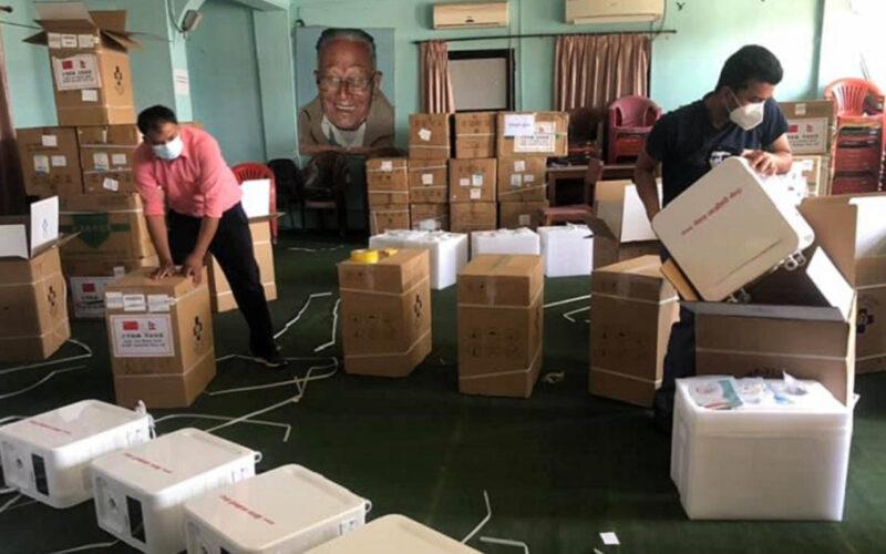 maoist medical kit donation